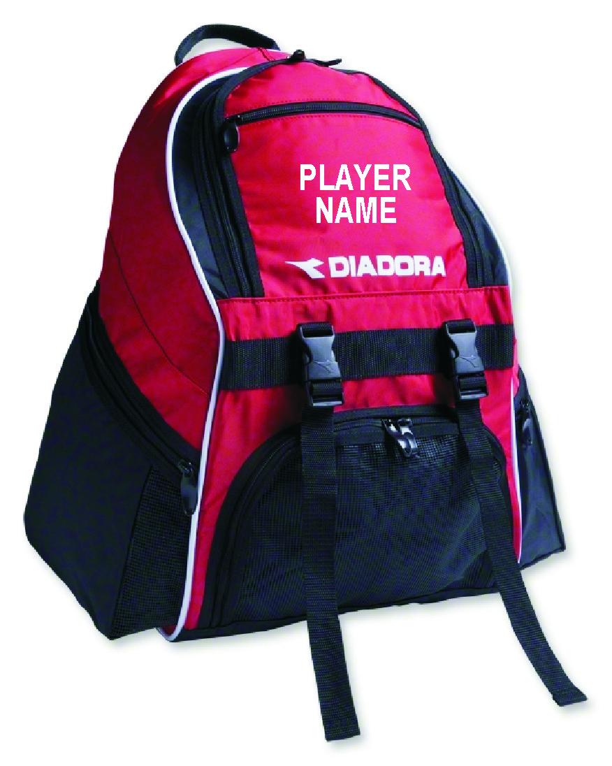 8e2eaa0db Diadora Squadra II Soccer Backpack Red Sports & Outdoors