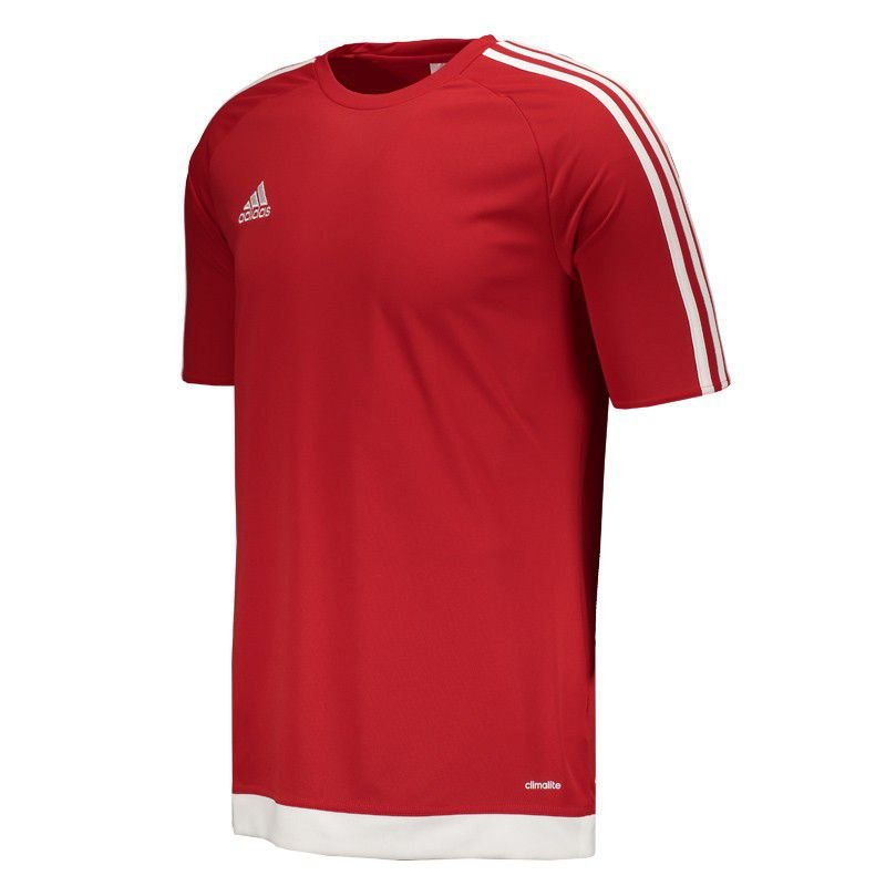 Adidas Estro 15 Jersey - Red / White CL#106-S16149 / S17301