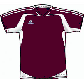 6eaeff0329d Adidas Womens Cosmo Jersey - Maroon
