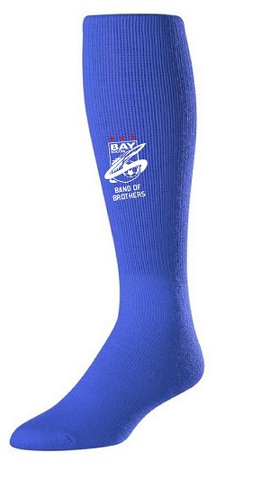 Bay High Custom Socks - Royal