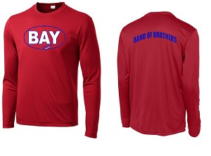 Bay High Training Top LS - Red