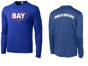 Bay High Training Top LS - Royal