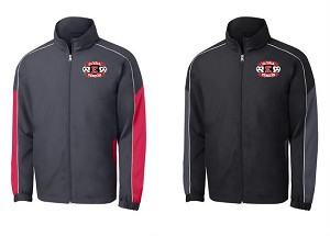 Elyria HS Piped Colorblock Wind Jacket