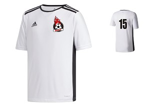 GESA White Game Jersey