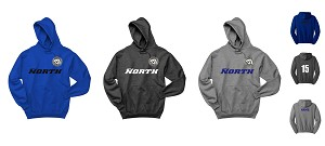 Upper 90 North FC NuBlend Pullover Hooded Sweatshirt