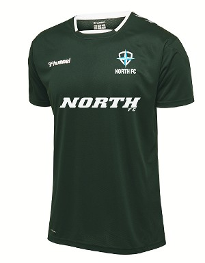 North FC Home Jersey - Black