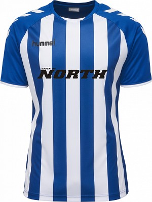 North Upper 90 Home Jersey - Blue / White