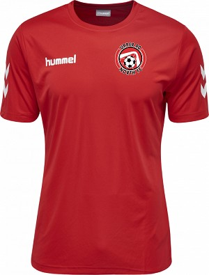 Upper 90 North Red Practice Top
