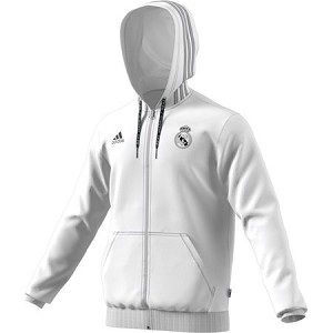 Real Madrid Full Zip Hooded Sweatshirt