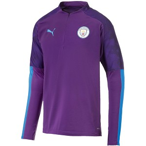 Manchester City 1/4 Zip Training Top