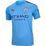 Youth Manchester City Home Jersey