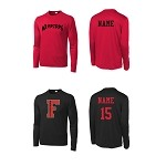 Fairview Baseball Peformance Long Sleeve