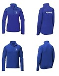 Dundee Michigan Soccer Mountain Peaks 1/4-Zip Fleece