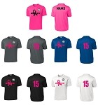 Upper 90 North FC PosiCharge Competitor Cancer Tee