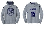 North Ridgeville Sport Tek Colorblock Hooded Sweatshirt