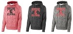 Elyria HS PosiCharge Fleese Hooded Pullover