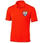 TCU Orange Polo Top Logo 3