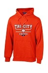 TCU Orange Hooded Sweatshirt Logo 1